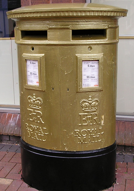 Golden Post-box 3