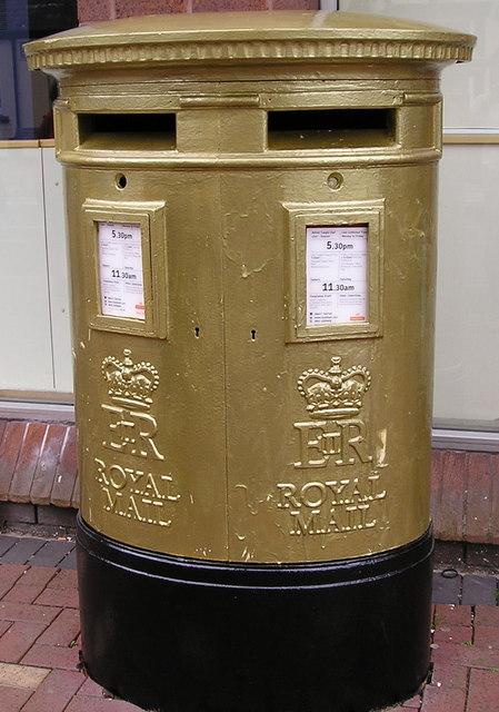 Golden Post-box 3