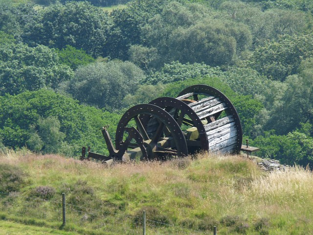 Winding wheel, Bedwellty Pits