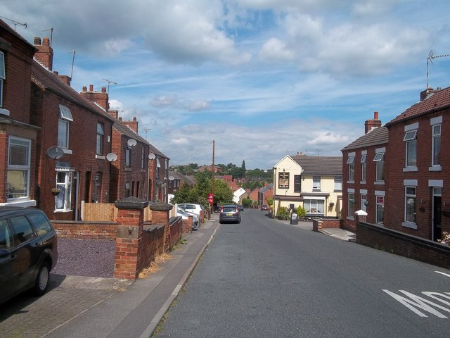 Brook Street in Heage