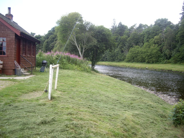 Fishing bothy at Carlogie