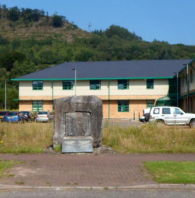 In Abercynon Rhondda Cynon Taf: Abercynon Colliery Miners' Memorial,... © Jaggery Cc-by-sa
