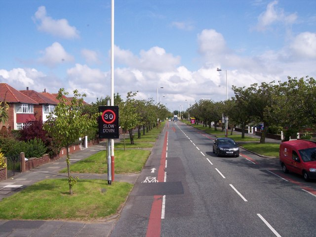 Preston New Road near Crossens