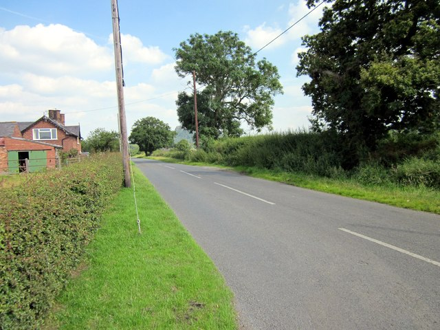 Tattenhall Lane near Newton