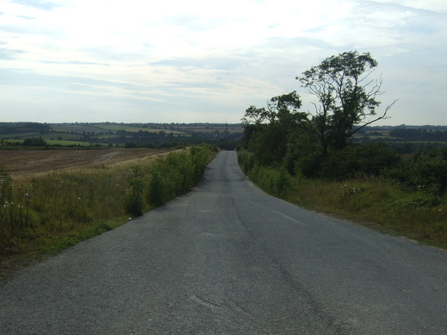 Access road to limestone quarry
