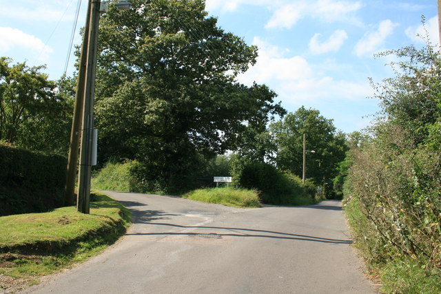 The Junction of Goat Hall Lane and Horse and Groom Lane