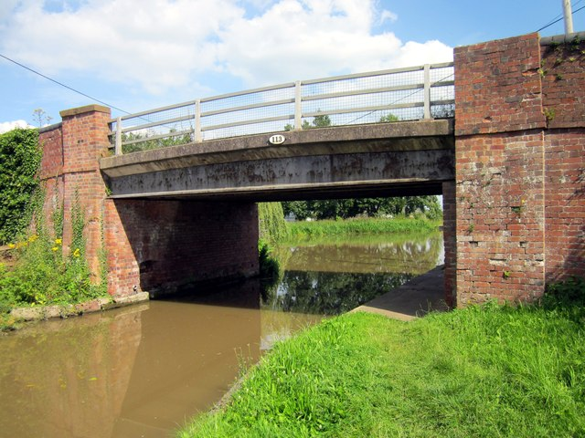 Crow's Nest Bridge (Bridge 113), Shropshire Union Canal
