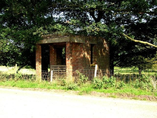 Military building, Barnham