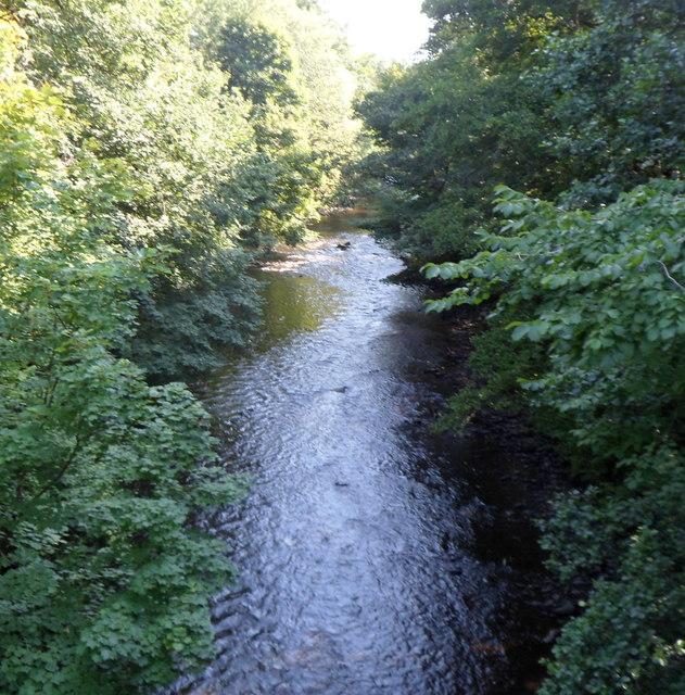 In Abercynon Rhondda Cynon Taf: River Taff Upstream From The B4275... © Jaggery