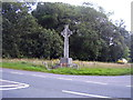 SZ2195 : Hinton War Memorial by Anthony Vosper