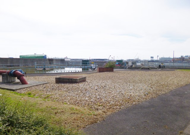 Woolston, water treatment works