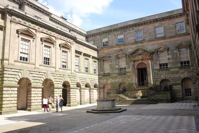 The Courtyard Of Lyme Hall Disley 169 Jeff Buck Cc By Sa 2
