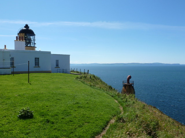 Mull of Kintyre: lighthouse and foghorn