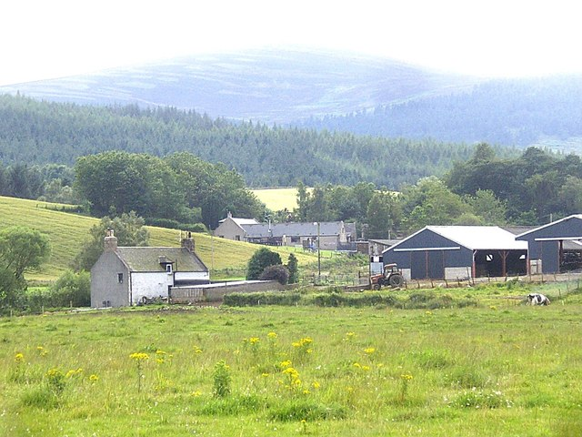 A view to Haugh Farm