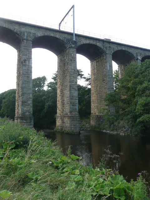 Viaduct over the River Aln