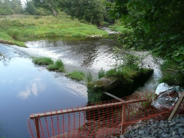 Weir on the River Aln