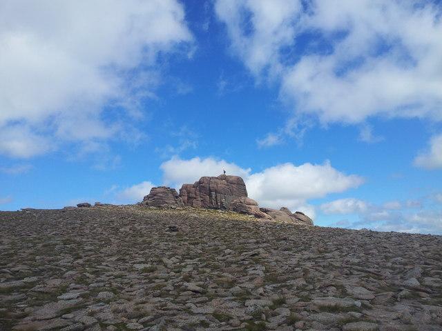 Beinn Mheadhoin summit