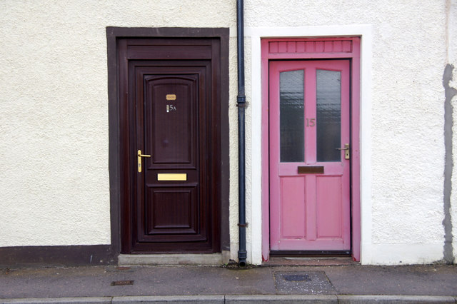 Doors, Harbour Street, Port Erroll