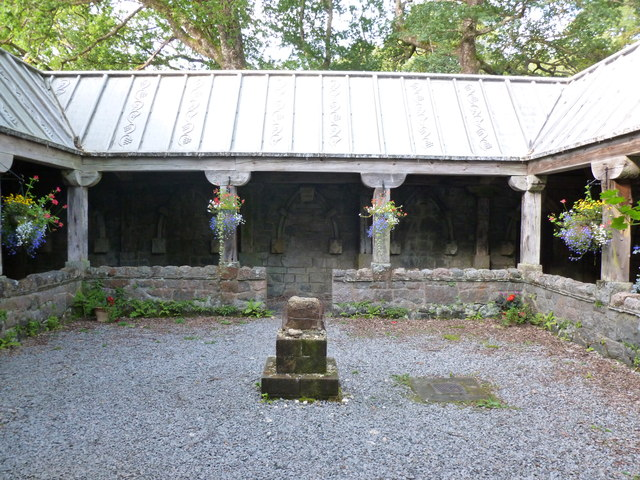 Cloister Garth, St Conan's Kirk, Lochawe