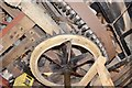 TL5764 : Swaffham Prior Mill - Cap Gearing by Ashley Dace