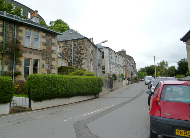 Oban:  Ardconnel Road