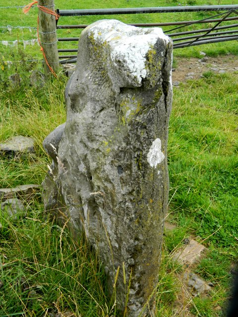 Possibly the missing end stone from Minninglow box cist