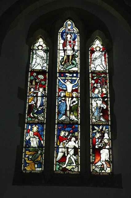 The Chancel window of St Michael