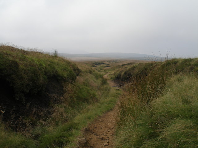 Pennine Way at Devil's Dike