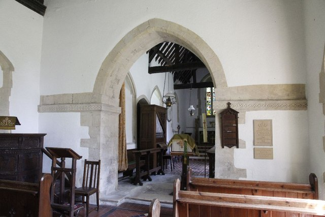 View of the Chancel wall