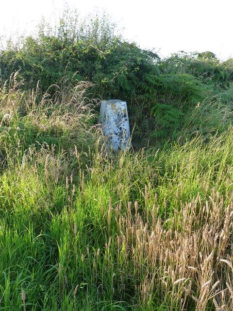Upper Farmcote trig pillar