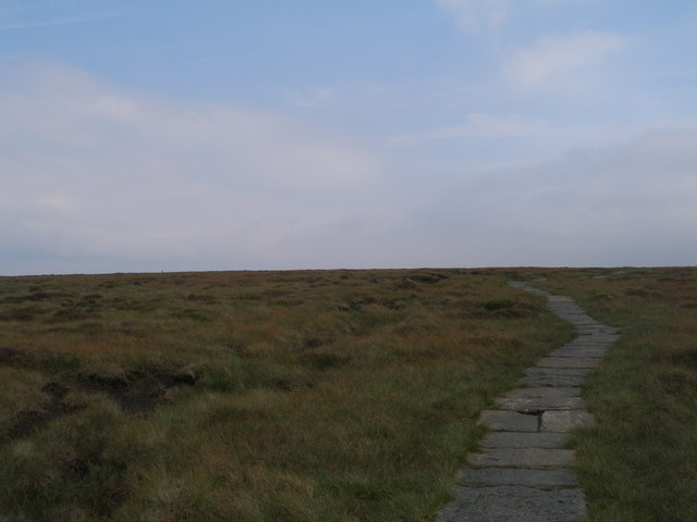 Pennine Way southwest of Moss Castle