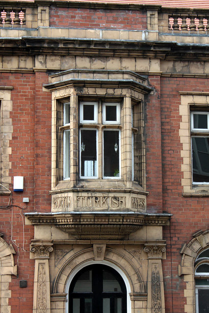 Oriel Window, Turkish Baths © Alan Murray-Rust :: Geograph ...