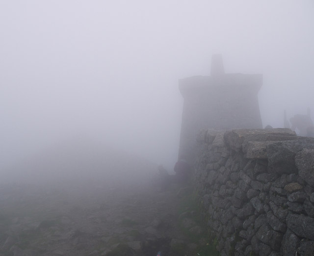 The summit of Slieve Donard