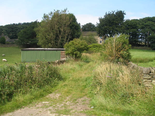Track towards Kydd Road Farm