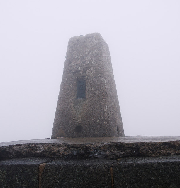 Slieve Donard Triangulation Pillar