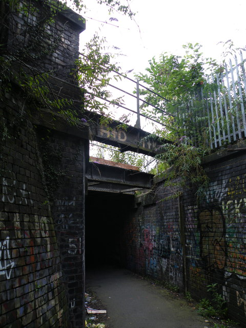 Cutler's Walk Path, Sheaf Bank, Heeley, Sheffield - 3