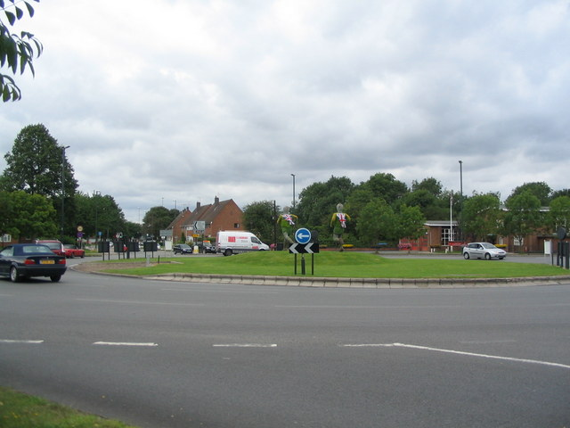 Fletchamstead Highway roundabout