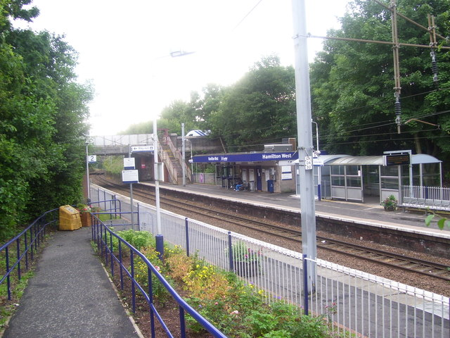 Hamilton West Railway Station