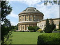TL8161 : In the front garden at Ickworth House by Richard Humphrey