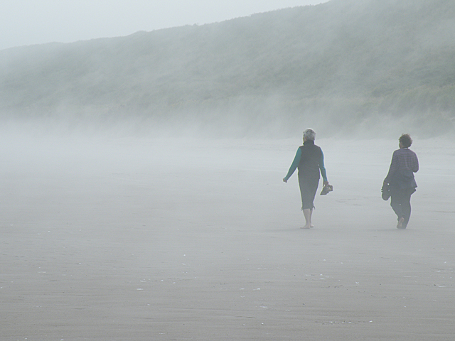 Walking in the Haar