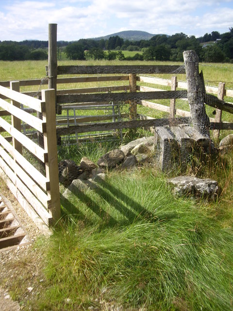 A stile by-pass for the cattle grid