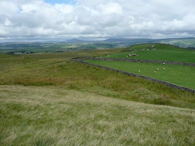View from the eastern end of Cross Hills, looking north-east