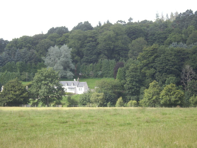 A house by the A93 at Desswood