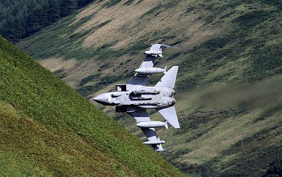 A low flying Tornado at Muchra