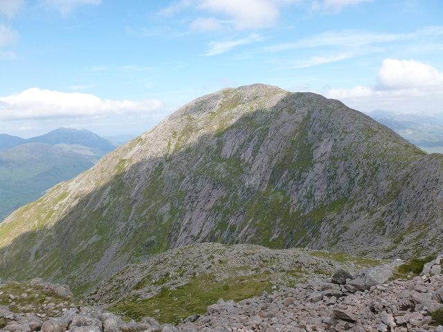 Beinn Sgulaird seen from Meall Garbh