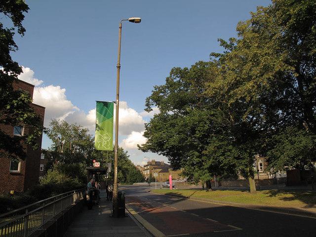 London 2012 banner