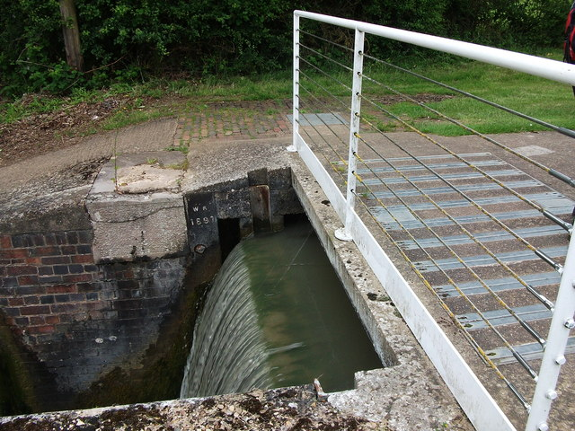 Detail of overflow weir, Welsh Road Lock