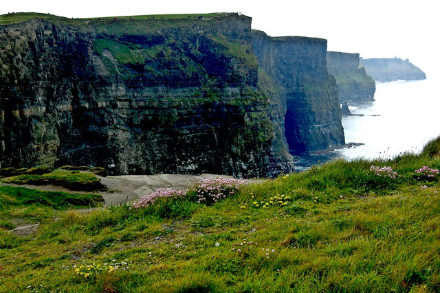 Cliffs of Moher - SW Portion of Cliffs