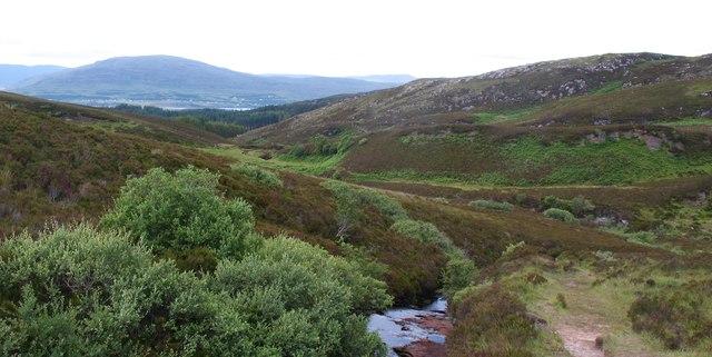 The Dun Caan path