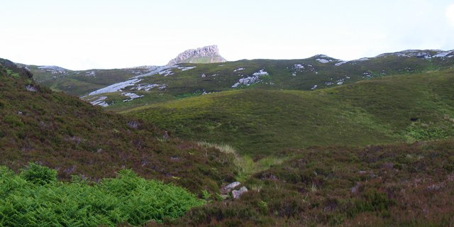 A first view of Dun Caan